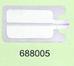 Нейтральный электрод для детей (двойная фольга), одноразовый
