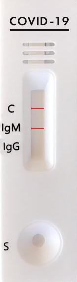 Положительный тест на коронавирус COVID 19
