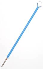 Монополярный электрод удлиненный для гинекологии L = 250 мм, изолированный